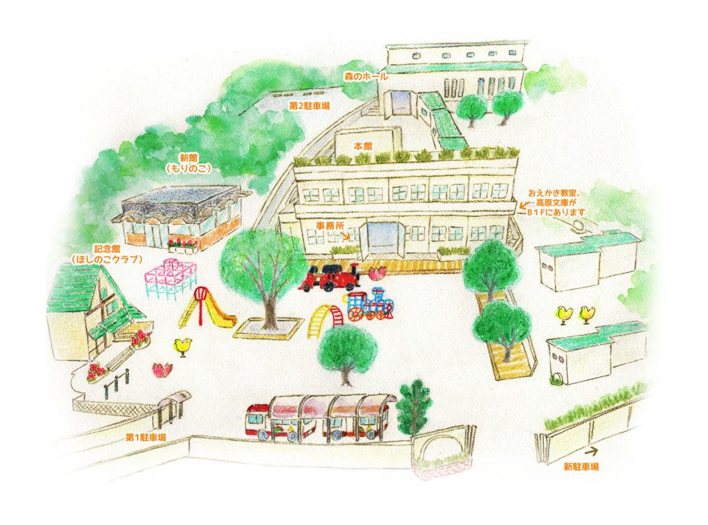 二俣川幼稚園 園内マップ